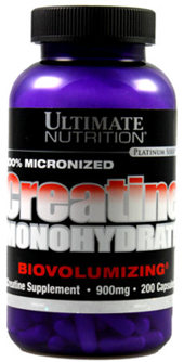 Ultimate Creatine Monohydrate 200 caps