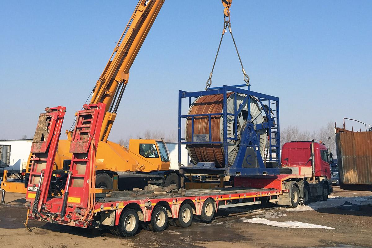 Транспортировка оборудования ТЭК Авторитет