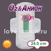 Внешний вид дневной анионовой прокладки «О2&Анион»