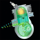 Двигатель STIHL 2-MIX с продувкой