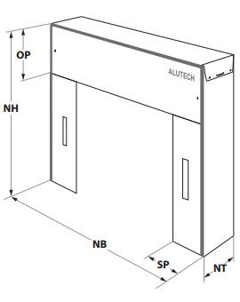 схема герметизаторы alutech dsf