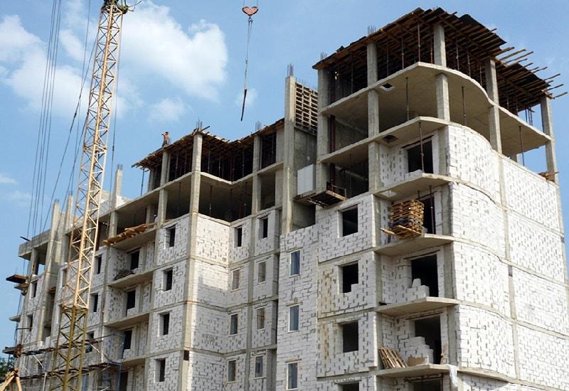 Применение газобетона в многоэтажных домах