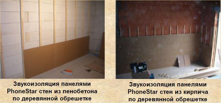Звукоизоляция стен: монтаж