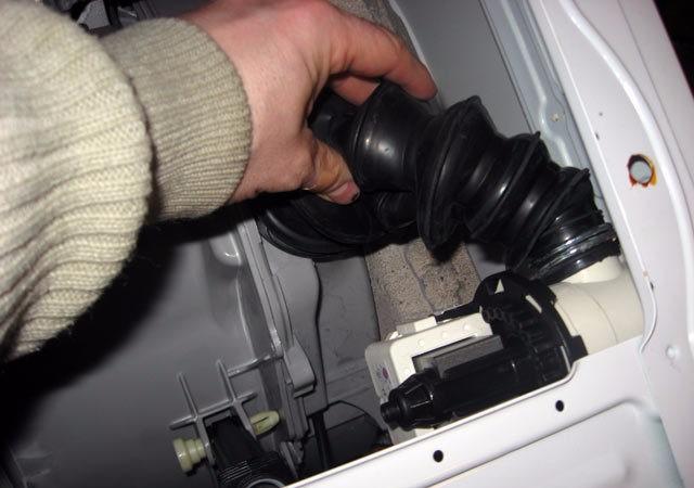 сливной патрубок стиральной машины