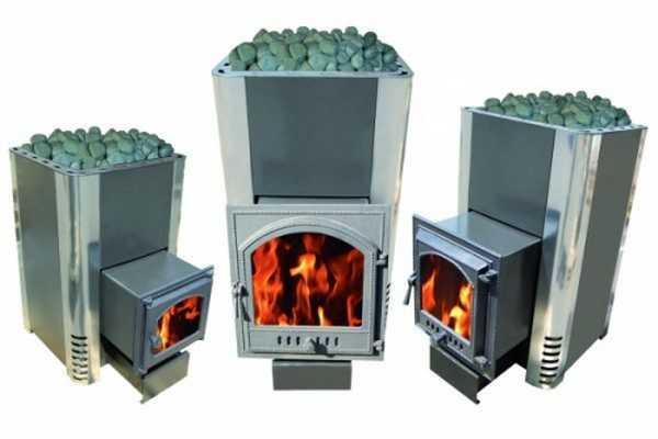 Выбирать дровяную металлическую печь нужно по массе параметров