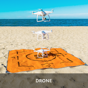 коврик для дронов