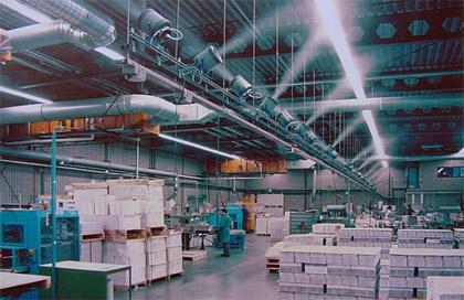 Увлажнение воздуха в производственных помещениях типографии