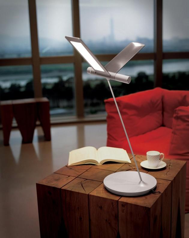 Пример использования светодиодных ламп LED, светильник