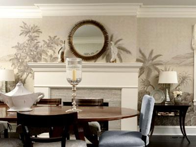 фреска в гостиной