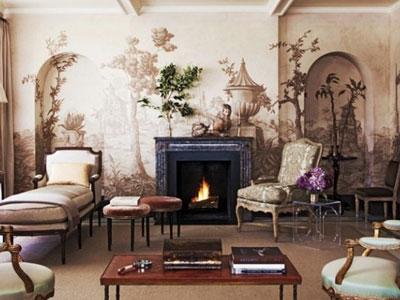 фрески на стене
