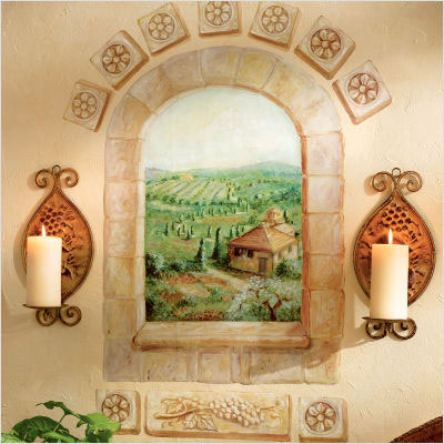 фреска фальш-окно