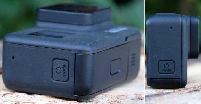 Камера GoPro Hero 7 Black интерфейсы и питание