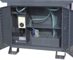 Станок L28 CNC: бак для сбора СОЖ