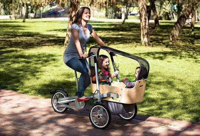 Велосипед-трансформер для родителей