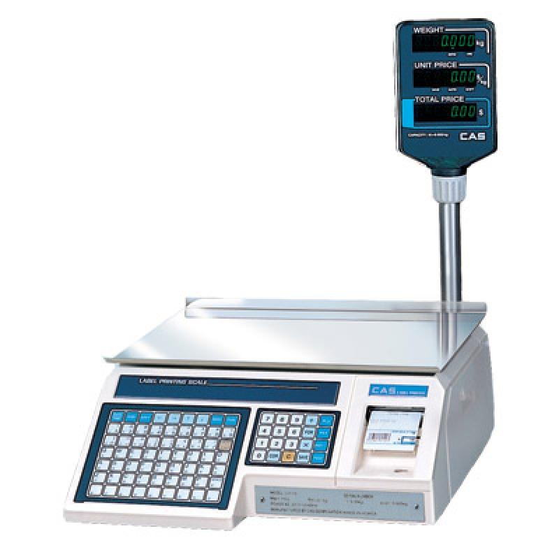 Весы с печатью этикеток CAS - LP 1.6 (со стойкой)
