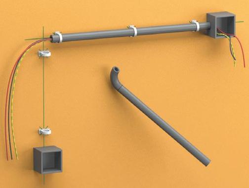 стоимость монтажа электропроводки