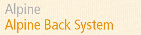 Alpine ― Deuter Alpine Back System
