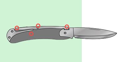 Замки back lock или spine lock