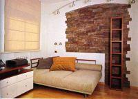 Декоративное покрытие стен под камень1