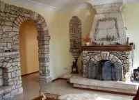 Декоративное покрытие стен под камень3