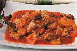 мясо по тайски с овощами