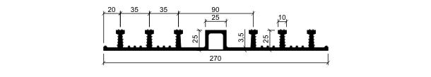 Гидрошпонка ДО-270/25