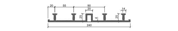 Гидрошпонка ДО-240/20