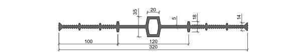 Гидрошпонка ДВ-320/20
