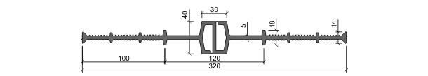 Гидрошпонка ДВ-320/40