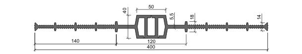 Гидрошпонка ДВ-400/50