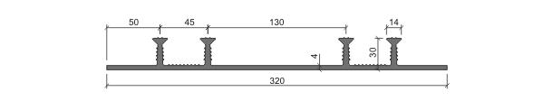 Гидрошпонка ХОМ-320-4/30