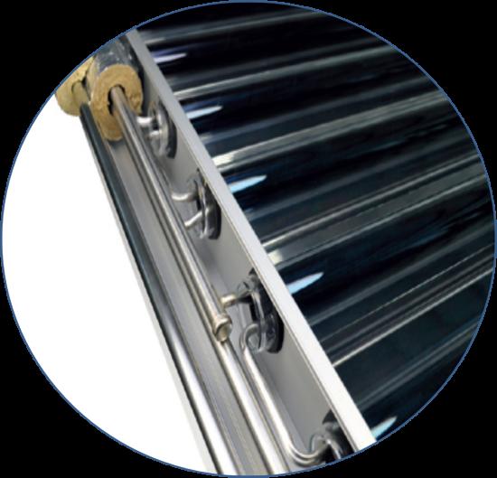 регистр солнечного коллектора