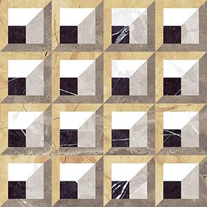 Aparici Regio +27944 Плитка нап. керамич. REGIO TRAVIATTA PULIDO, 59,55x59,55