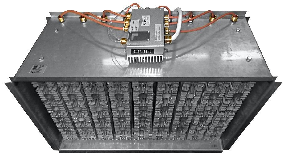 Нагреватель канального типа ВНУ-КМ1.U взрывобезопасный
