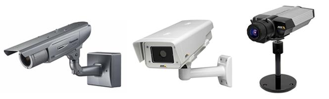 Фиксированные камеры, наружные камеры