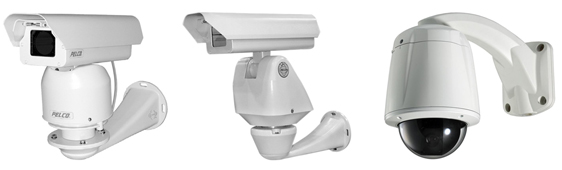 Управляемые видеокамеры, поворотные видеокамеры, скоростные видеокамеры
