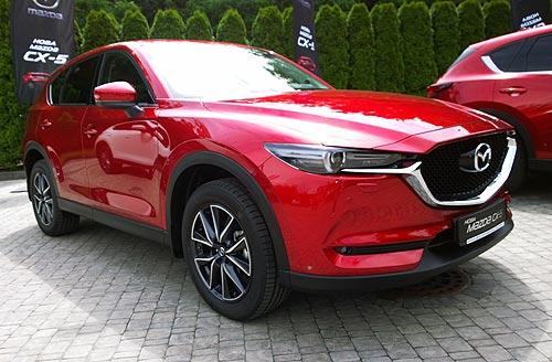 В Украине начались продажи новой Mazda CX-5. Первые цифры - Mazda