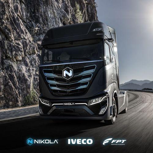IVECO анонсирует электрический грузовик совместно с компанией Nikola - IVECO