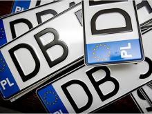 В Украине все чаще штрафуют водителей на иностранных номерах - иностран
