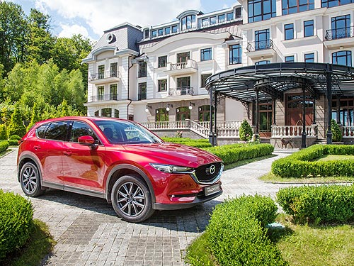 Тест-драйв Mazda CX-5 New на украинских дорогах - Mazda
