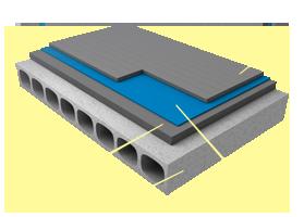 Применение материала «Brane B» в конструкциях перекрытий