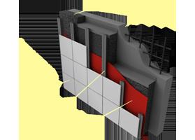 Применение материала «Brane A» в конструкциях вентилируемых фасадов многоэтажных зданий
