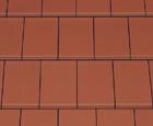 Домино ангоб медно-красный  - Керамическая черепица CREATON