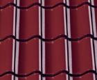 Симфония глазурь Finesse винно-красный  - Керамическая черепица CREATON