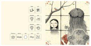 Белоснежка книга с пиктограммами