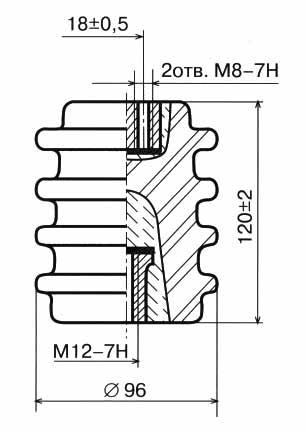 Изолятор И4-80 I УХЛ2