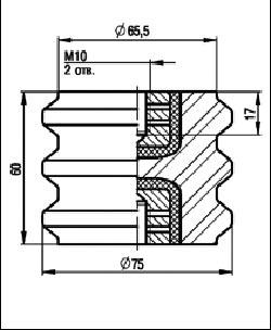 Изолятор ИОР-1-2,5 У3