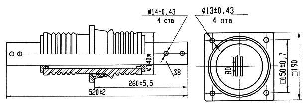 Изолятор ИП-10/1600-7,50 УХЛ 2