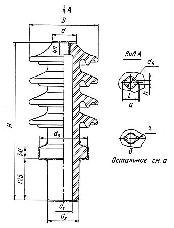 Изолятор ИПТ-35/400 А 01