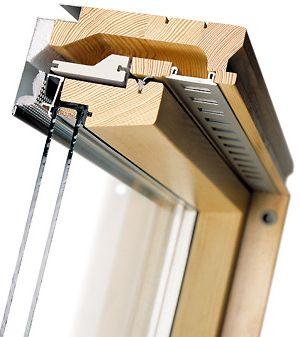Факро мансардное окно в разрезе